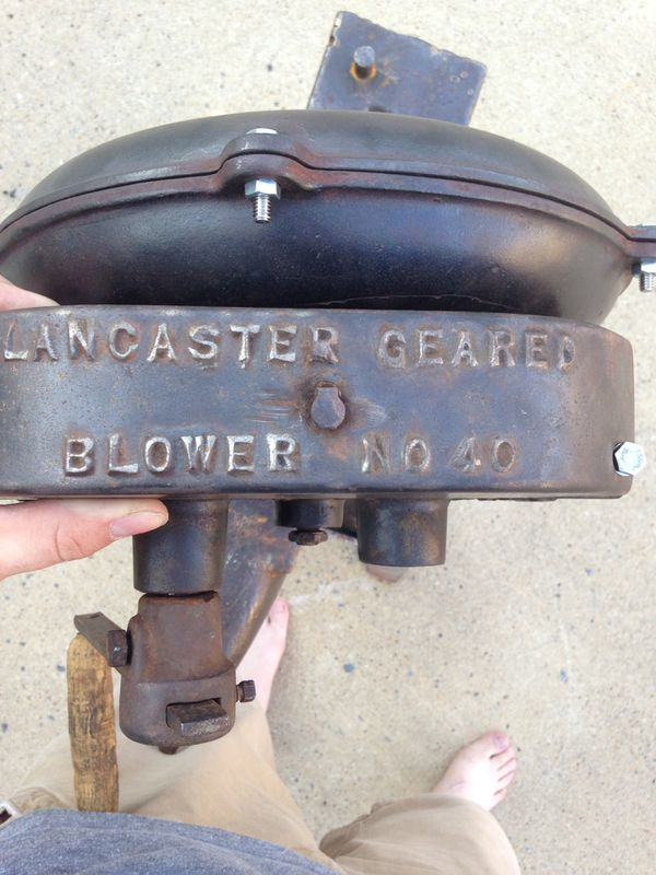 Champion #40 Antique Blacksmith Forge Blower for Sale in Plano, TX - OfferUp