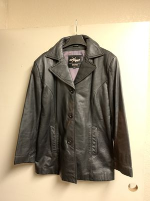 Large maxima leather jacket for Sale in Buena Park, CA