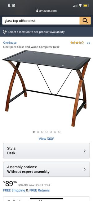 Like new office desk for Sale in Washington, DC