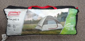 Coleman The Outdoor Company Highline II Dome Tent. 4 Person, 10 Minute Setup, Fits 1 Queen Air Mattress for Sale in Burlington, NC