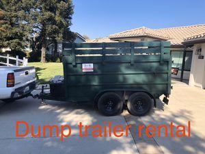 Dump trailer/ hauling trailer for Sale in South El Monte, CA