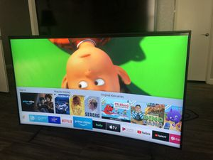 "Samsung Curved Smart TV 55"" 4K UHD 7 Series 2020 Model for Sale in Las Vegas, NV"
