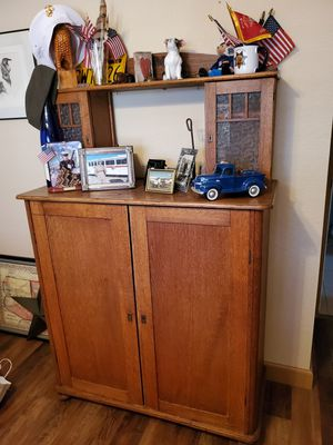 Price Reduced - ANTIQUE CABINET for Sale in Apple Valley, CA