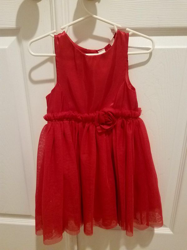 Size 2T Red Holiday dress