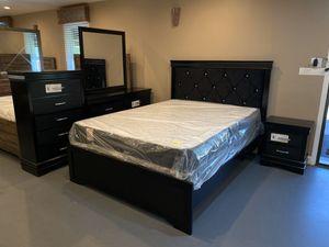 New 5Pc Queen Bedroom Set for Sale in Winston-Salem, NC