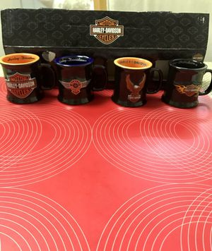 Harley Davidson 4cups shots size for Sale in Greenwich, CT