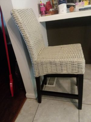 Kubu Pier 1 Bar wicker chair bar stool for Sale in Durham, NC