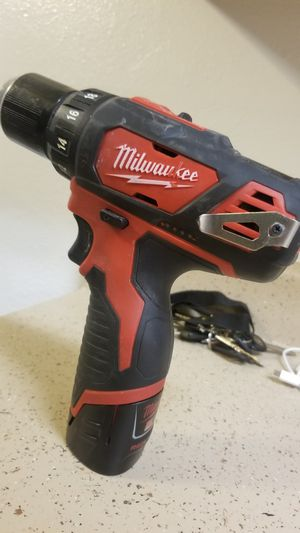 Milwaukee wireless drill for Sale in Des Moines, IA