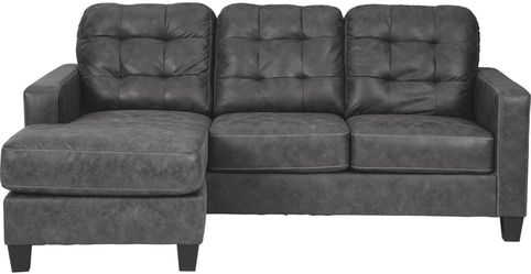 🔥New! Comfy suede grey reversible sofa chaise sectional for Sale in Escondido,  CA