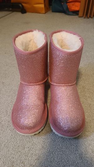 UGG Boots pink glitter sz 3 sz5 for Sale in Seattle, WA