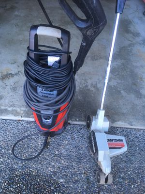 Pressure Washer and Trimmer for Sale in Bothell, WA