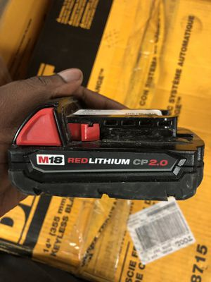 Battery , Tools-Power Milwaukee for Sale in Baltimore, MD