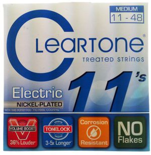 Cleartone Electric Guitar Strings (11-48) for Sale in Torrance, CA