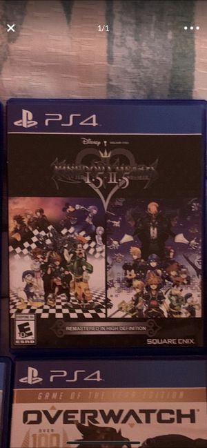 Kingdom Hearts 1.5 and 2.5 PS4 Game for Sale in Miami, FL