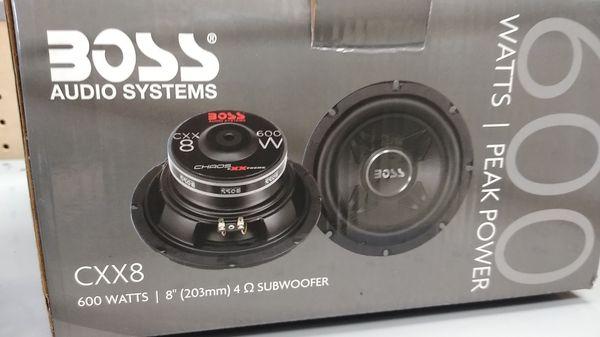 Boss 600 Watts Subwoofer