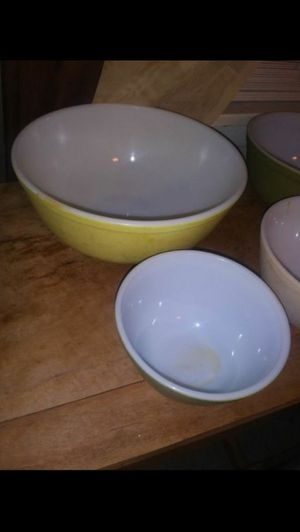 Pyrex bowls set $150 for Sale in Balch Springs, TX