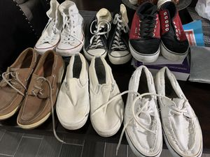 Vans Sperrys and Converse for Sale in Edinburg, TX