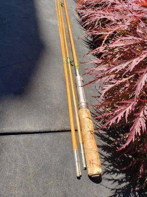 Vintage fishing pole with two versions for Sale in Federal Way, WA