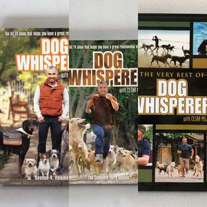 Dog whisperer with Cesar Milan 3 lot dvd sets for Sale in Miami, FL