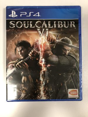 Soul Calibur VI (6) Ps4 for Sale in San Francisco, CA