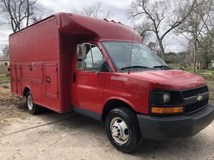 2005 Chevy express service box caja herramientas 3500 HD for Sale in Houston, TX