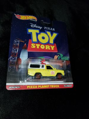 Hotwheels Toy Story Pizza Planet Truck for Sale in Bellflower, CA