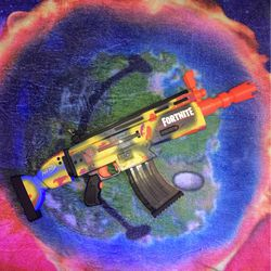 Travis Scott Fortnite Nerf AR-Goosebumps Gun for Sale in Alexandria,  VA