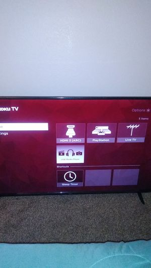 """TCL Roku TV """"55in for Sale in North Las Vegas, NV"""