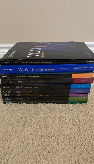 MCAT Review books 5th edition for Sale in Vancouver, WA