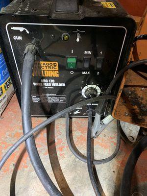 MIG Welder 180 wire feed welder for Sale in Tacoma, WA