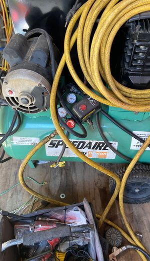 Speedaire 20 gal motor 220 volt for Sale in Stockton, CA
