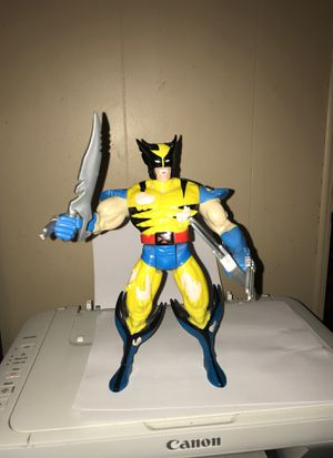First wolverine action figure 13 inches high marvel with weapons for Sale in St. Louis, MO