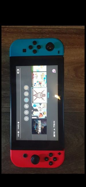 Ninetentodo switch V2 with 7 games for Sale in Glendale, AZ