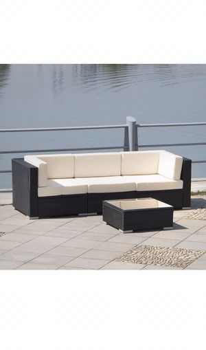 Outdoor furniture, 4pc outdoor furniture, patio sofa for Sale in Maricopa, AZ