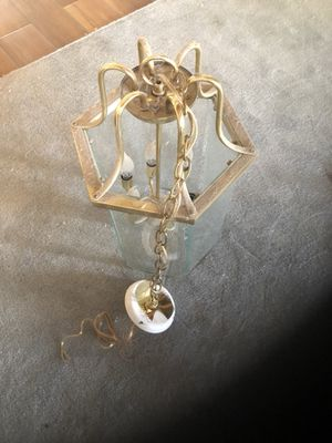 Light fixture glass for Sale in Reedley, CA