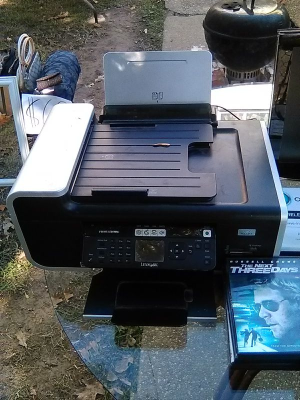 Lexmark professional all in one wireless color printer NO INK IS INCLUDED