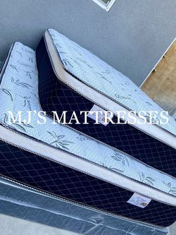 BAMBOO PILLOW TOP MATTRESS 💥 BEST PRICES ‼️ DELIVERY AVAILABLE 🆕 12 INCHES THICK ✅ for Sale in Brea,  CA