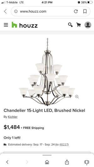 Chandelier New for Sale in Pataskala, OH