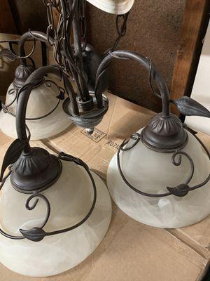 Chandelier and 2 lamps for Sale in Manassas, VA