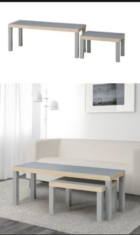 Ikea Gray Coffee table for Sale in New York, NY