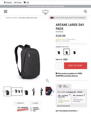 Arcane large day backpack for Sale in Las Vegas, NV