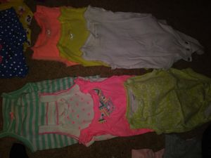 Baby onesies 3-6 months to 12 months for Sale in Redlands, CA