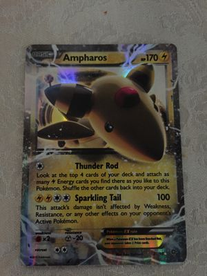 Ampharos Ex Full Art Holo 27/98 Pokemon Card for Sale in Durham, NC