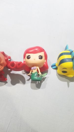 Funko Pops! The Little Mermaid for Sale in Phillips Ranch, CA