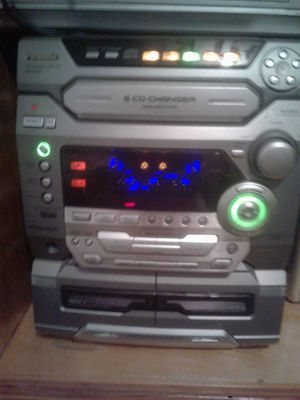 Panasonic cd stereo system SA-AK57 witb PanasonicDVD /CDplayerRP62 for Sale in Portland, OR