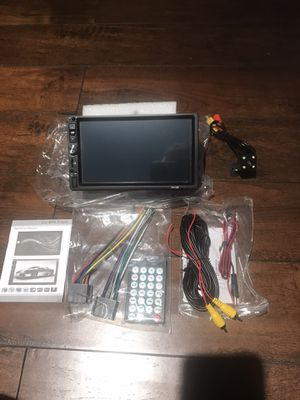 Double Din Car Stereo in-Dash BT Touch Screen 7 inch , Support Backup Rear View Camera (not included) Video MP5/4/3 Player, Radio FM, Car Stereo Rece for Sale in Los Angeles, CA