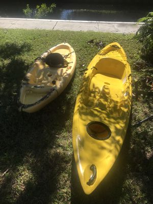 2 kayaks for Sale in Fort Lauderdale, FL
