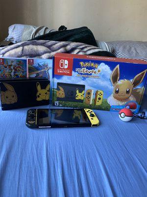 Pokemon Nintendo switch for Sale in Los Angeles, CA