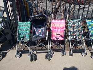 Assorted umbrella strollers spring deal for Sale in Cleveland, OH