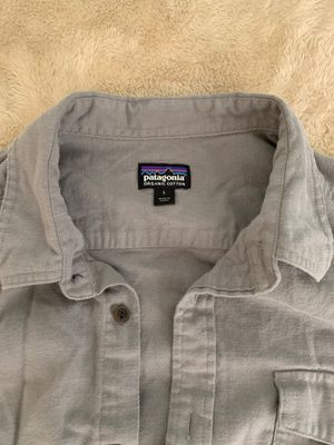 Patagonia Grey Button up (Soft) for Sale in Tracy, CA
